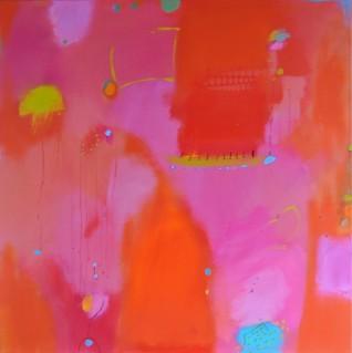 Kazeil, Chris, Bombay Sapphire, 48 x 48 Acrylic $3200