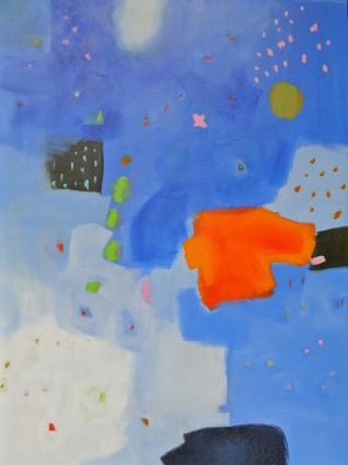 Chris Kazeil, Good Night Moon, Acrylic 36 x 48 $1800