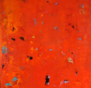 Chris Kazeil, Mayfair Park, Acrylic $2500