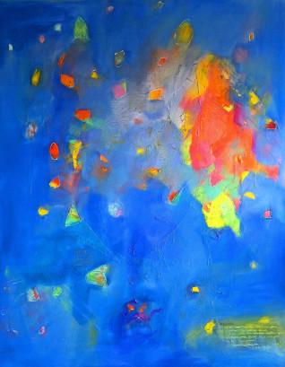 Chris Kazeil, Magellan 2, Acyrlic, 48 x 60 $3900